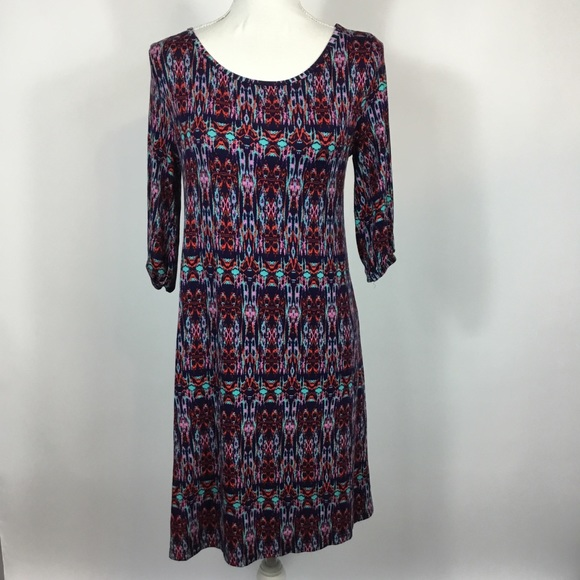 Market & Spruce Dresses & Skirts - Market & Spruce Multicolored Shift Dress Small